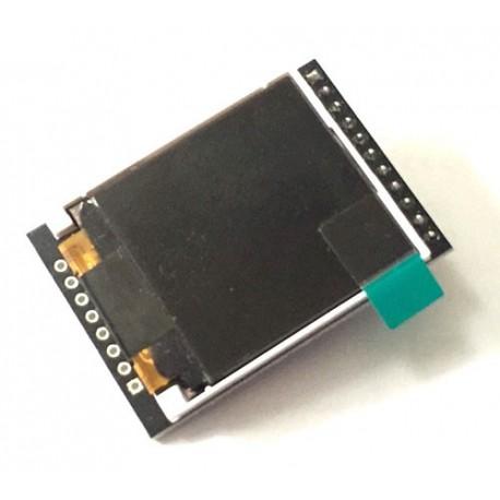 نمایشگر LCD 1.44 اینچ با تراشه 74HC245D و رابط I2C