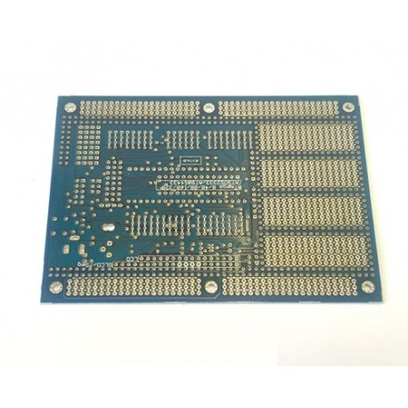 برد نمونه سازی پروژه AVR کوچک Embedded PCB مدل 21221