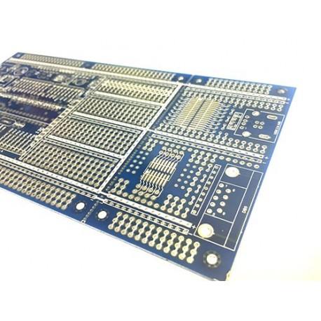 برد نمونه سازی پروژه AVR با بخش ارتباط با رایانه Embedded PCB مدل 21220