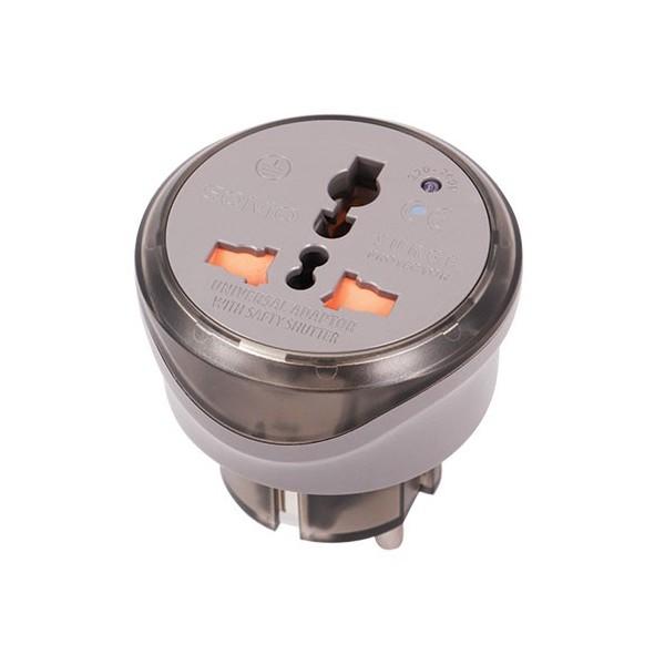 تبدیل 3 به 2 شاخه برق با نوسان گیر ولتاژ سومو SM100 Wall Plug Adapter