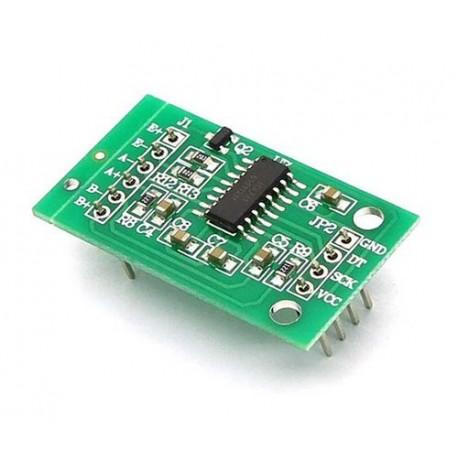 ماژول مبدل دو کاناله آنالوگ به دیجیتال ADC 24 بیتی با تراشه HX711