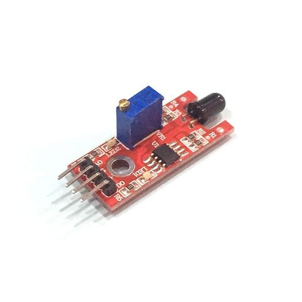 ماژول تشخیص شعله گیرنده مادون قرمز با تراشه LM393