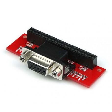 شیلد مبدل VGA برای برد رزبری پای Raspberry Pi VGA 666 Adapter