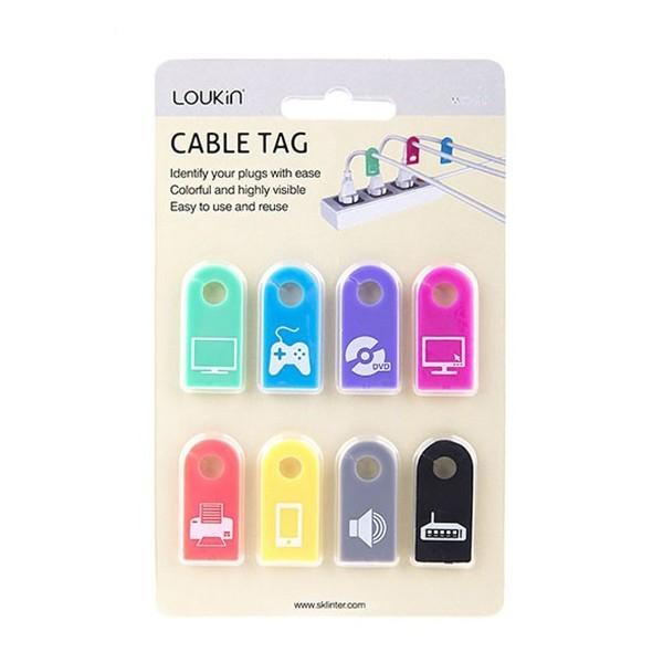 تگ شناسایی کابل لوکین مدل Loukin Cable Tag MCC-015