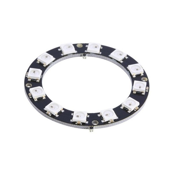 حلقه ال ای دی 12 تایی LED Neo Pixel Ring RGB