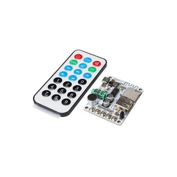 ماژول MP3 با بلوتوث و آمپلی فایر و ریموت Bluetooth Audio Receiver Module
