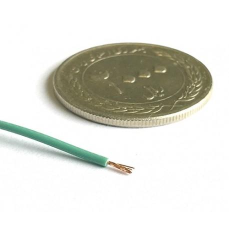 سیم افشان مخصوص الکترونیک - رنگ سبز