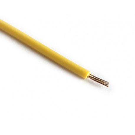 سیم افشان مخصوص الکترونیک - رنگ زرد