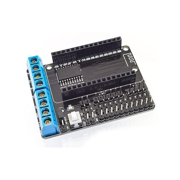 شیلد درایور موتور L293D مخصوص برد NodeMCU کنترل با وای فای Esp8266