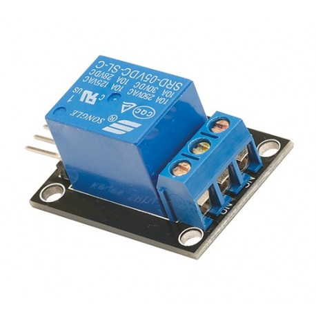 ماژول رله تک کانال کوچک Relay 5 ولت و خروجی 220 ولت