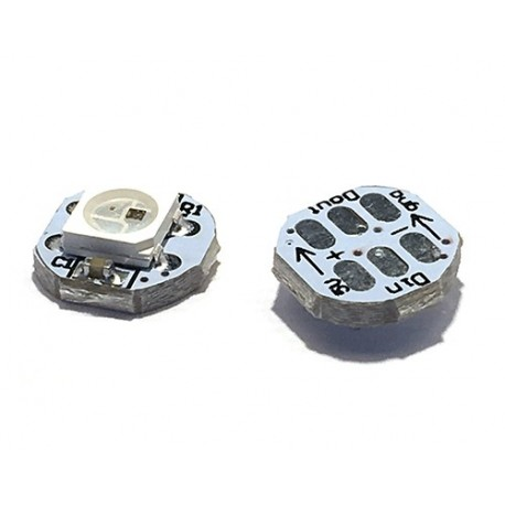 ماژول LED RGB 5050 با ورودی و خروجی مجزا SMD