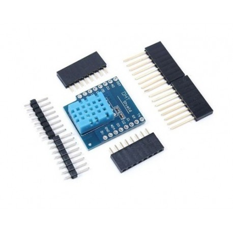 شیلد سنسور دما رطوبت DHT11 مخصوص اینترنت اشیا iOT برد Mini D1