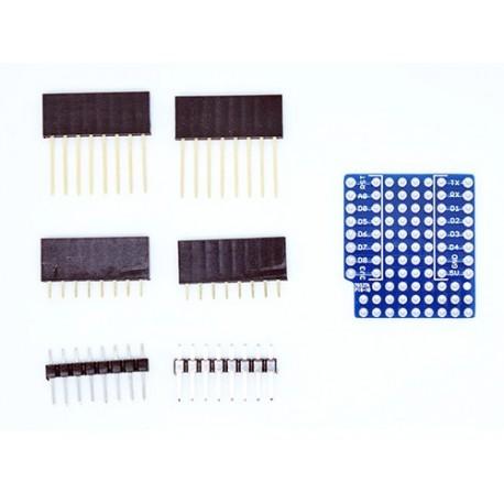 شیلد پروتوتایپ ProtoType مخصوص اینترنت اشیاء IOT برد Wemos Mini D1