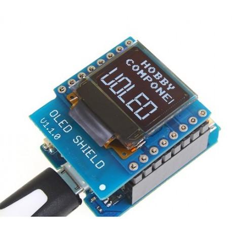 شیلد نمایشگر OLED مخصوص اینترنت اشیا iOT برد Mini D1