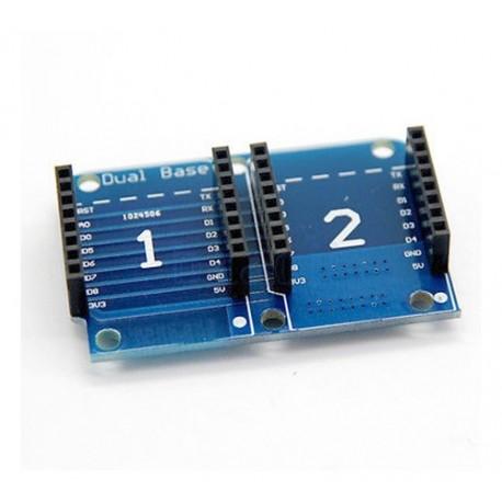 شیلد توسعه دوبل مخصوص اینترنت اشیاء IOT برد Wemos Mini D1