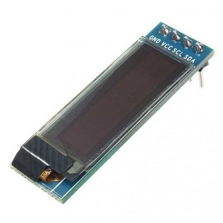 ماژول نمایشگر oled 128x32 با رابط I2C