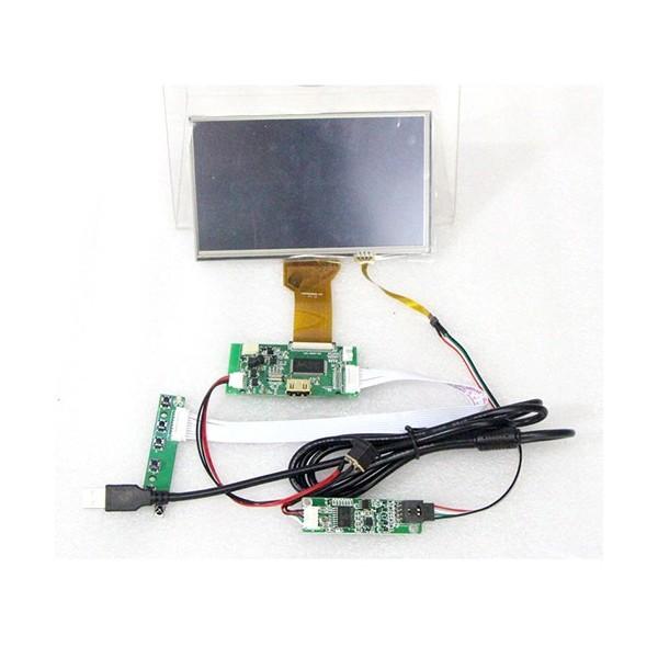 ال سی دی 7 اینچ TFT 7inch LCD 50pin با ریموت کنترل و خروجی HDMI