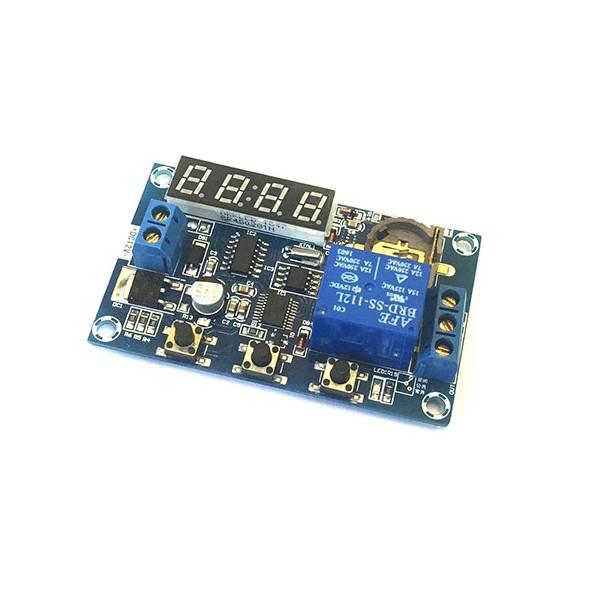 ماژول ساعت و تایمر WX-101T با تراشه DS1302 و نمایشگر و رله