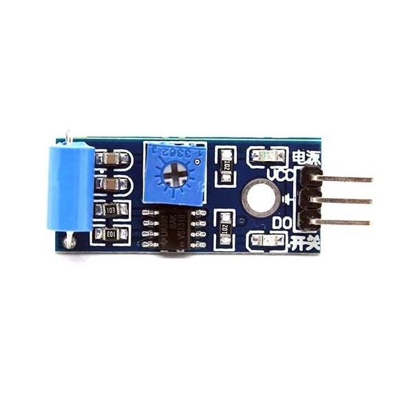 ماژول سنسور تشخیص زلزله و لرزش نگار SW-420 earthquake detection sensor