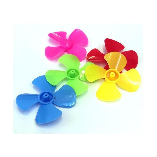 پروانه 4 پره پلاستیکی مناسب رباتیک و اتصال به آرمیچر