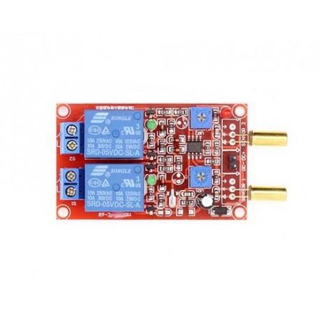 ماژول تشخیص کجی Tilt Switch Module با رله Relay دو کانال