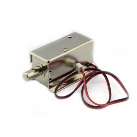 قفل برقی شافت گرد 12 ولت Electromagnet Door Lock 12v Solenoid Lock