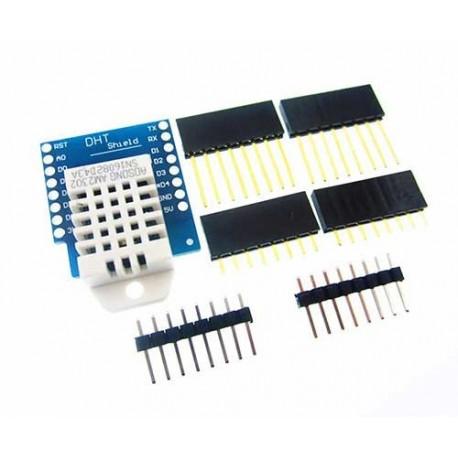 شیلد دما رطوبت DHT22 برد کنترل اینترنت اشیاء Wemos D1 Mini