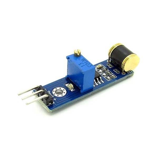ماژول سنسور تشخیص لرزش و ویبراتور 801S با خروجی دیجیتال vibration sensor