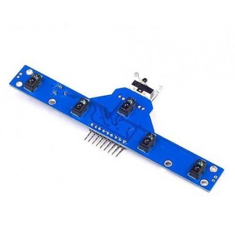 ماژول فرستنده گیرنده 5 سنسور مخصوص ربات مسیریاب