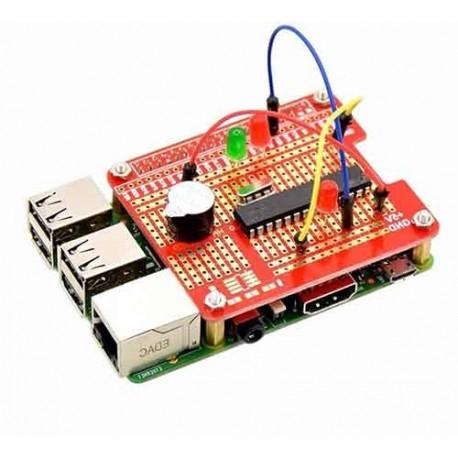 شیلد پروتوتایپ رزبری پای Raspberry Pi Proto Shield دارای اسپیسر