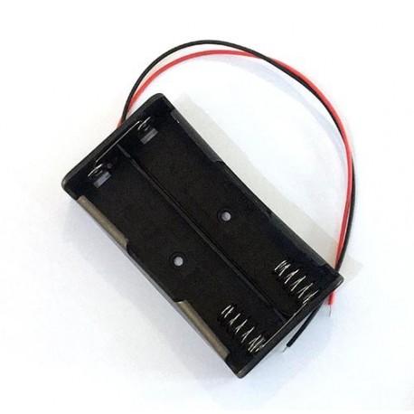 جاباتری دوتایی 18650 اتصال موازی (افزایش آمپر) مناسب پاور بانک Power Bank