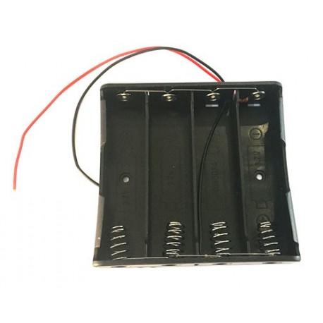 جاباتری 4تایی 18650 اتصال موازی (افزایش آمپر) مناسب پاور بانک Power Bank