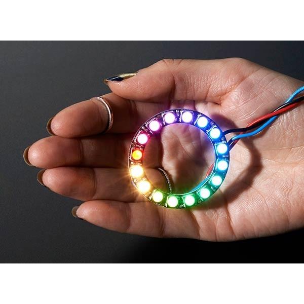 حلقه ال ای دی 16 تایی LED Neo Pixel Ring RGB
