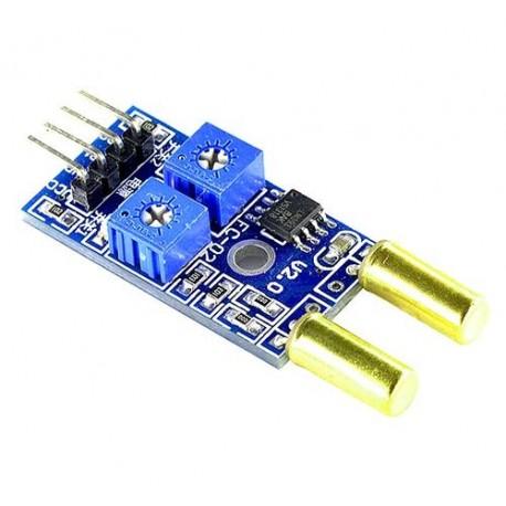 ماژول تیلت دو کاناله سنسور کجی Tilt Sensor Double SW-520 Module با تراشه LM393