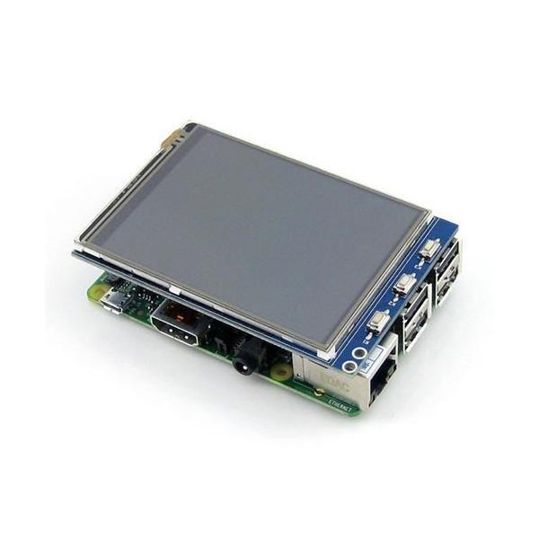 شیلد ال سی دی 3.2 رزبری پای Raspberry Pi LCD Shield 3.2 inch