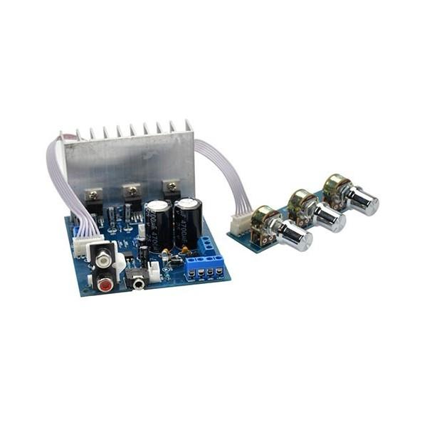 ماژول آمپلی فایر Subwoofer سه کاناله با تراشه TDA2030A ورژن 2.1