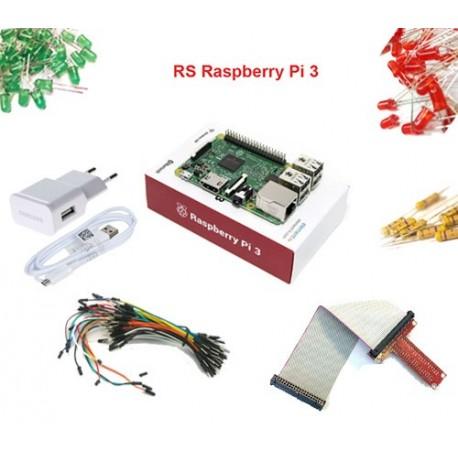 ست اورجینال رزبری پای 3 Raspberry Pi UK
