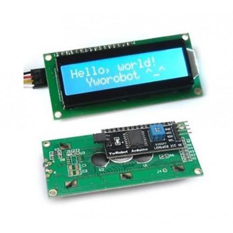 ماژول نمایشگر 2X16 کاراکتری با راه انداز I2C