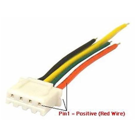 کابل XH چهار پایه به همراه کانکتور XH Cable