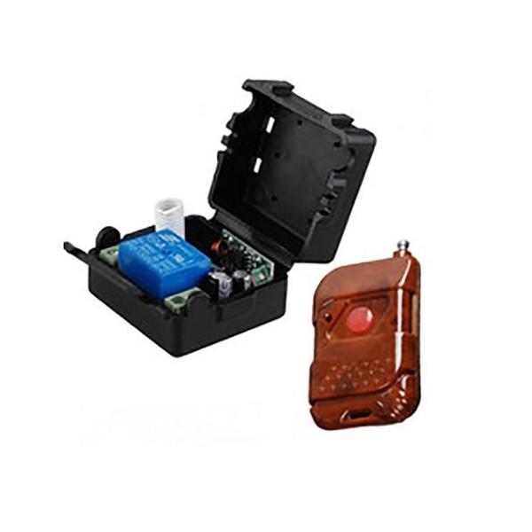 ماژول ریموت فرستنده گیرنده 1 کانال کد لرن با جعبه مناسب در برقی