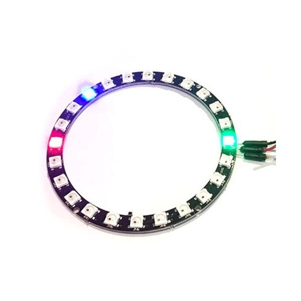 حلقه ال ای دی 24 تایی LED Neo Pixel Ring RGB