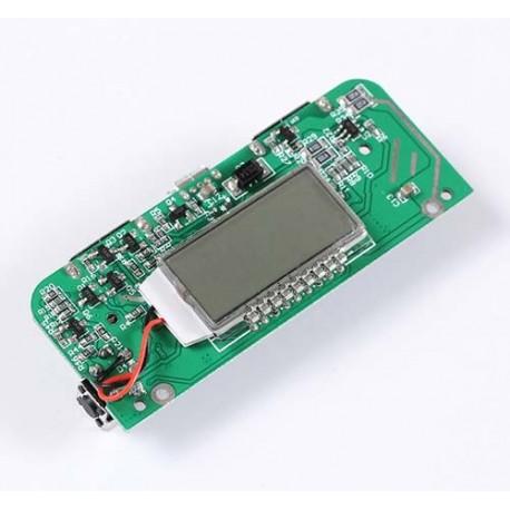 ماژول پاور بانک دو کاناله با نمایشگر LCD توان 1 آمپر و 2.1 آمپر Power bank Module