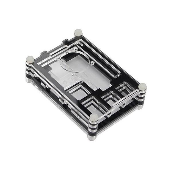 جعبه چندلایه رزبری پای Raspberry pi Multi layer اکریلیک با قابلیت نصب فن