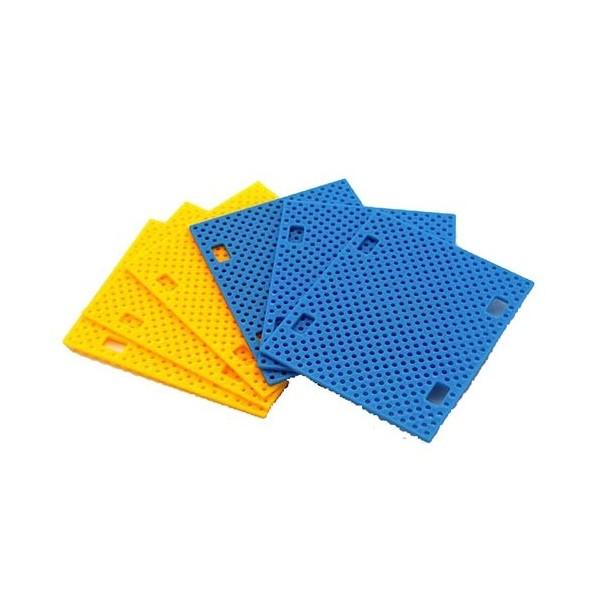 صفحه پلاستیکی رنگی ABS مخصوص ساخت ربات