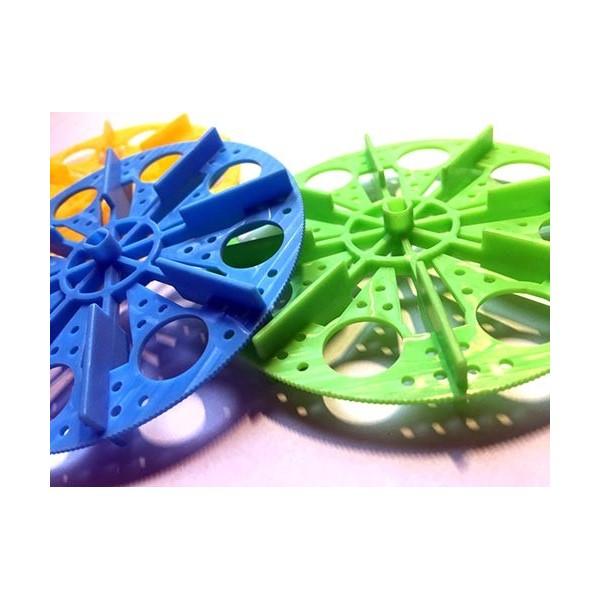 چرخ پدالی گرد با شافت دو حالته گرد و تخت مناسب موتور گیربکس پلاستیکی Paddle wheel