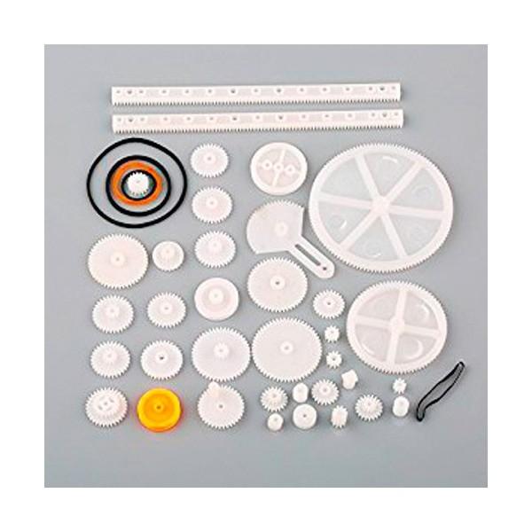 پک چرخ دنده و پولی و تسمه پلاستیکی مخصوص ساخت ربات
