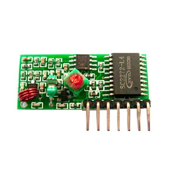 ماژول گیرنده رادیویی 315MHZ با تراشه wirleess RF receiver module SC2272-L4