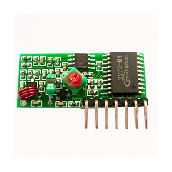 ماژول گیرنده رادیویی 315MHZ با تراشه wirleess RF receiver module PT2277-M4