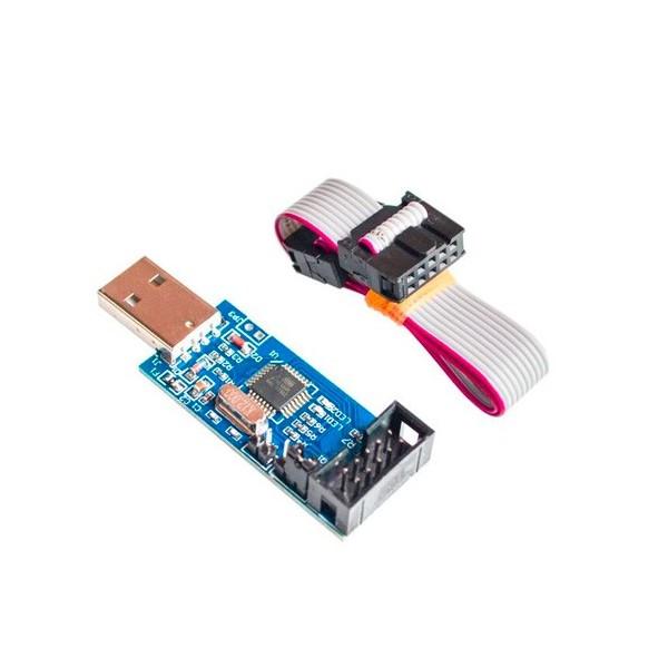 پروگرامر AVR با USB و کابل فلت 2*10