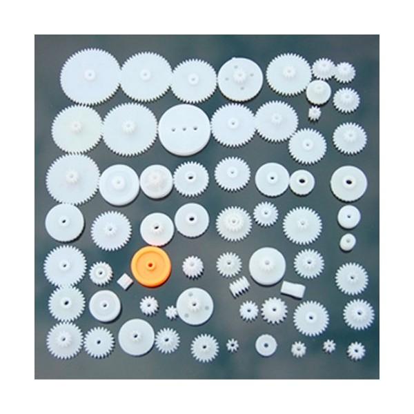 پک 64 عددی پولی و چرخ دنده Pulley & Plastic Gear